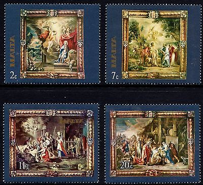 Malta 1977 Tapestries Complete Set SG 592 - 5 Unmounted Mint