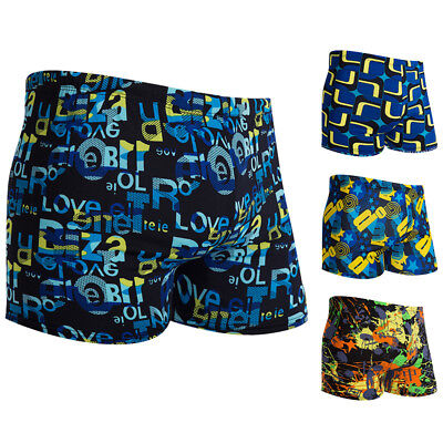Mens Swimming Board Shorts Swim Beach Shorts Trunks Swimwear Beach Summer Boys