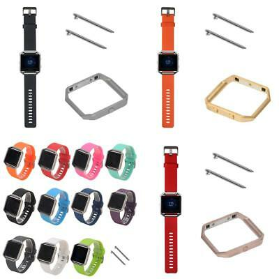 Replacement Soft Silicone Sports Band Wrist strap For Fitbit Blaze Smart Watch