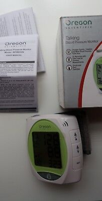 Oregon Scientific Talking Blood Pressure Monitor Model: BPW810N
