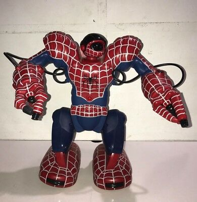Wowwee Marvel Spider-Man Robosapien Remote Controlled Robot  Working