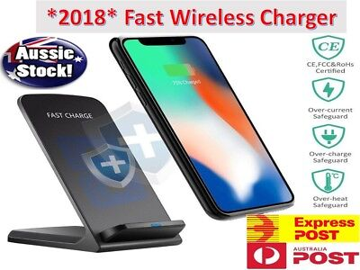 GENUINE Samsung Fast Charge Wireless QI Charger - S8 S8+ S7 S6 Edge Note 8 5