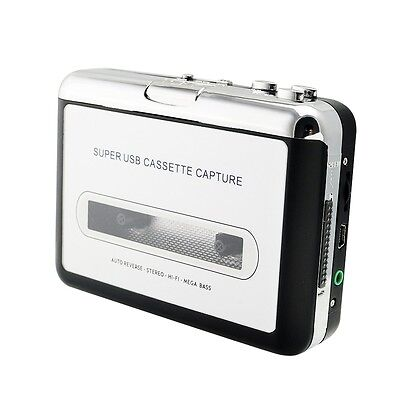 USB Cassette Tape to MP3 iPod CD Converter Capture Audio Music Player