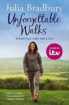 Julia Bradbury _ Unforgettable Walks _ Britain's Best_ Brand New _ Freepost Uk