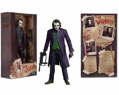 "The Joker Heath Ledger Dc Comics Collectible Batman Dark Knight 7"" Figure"
