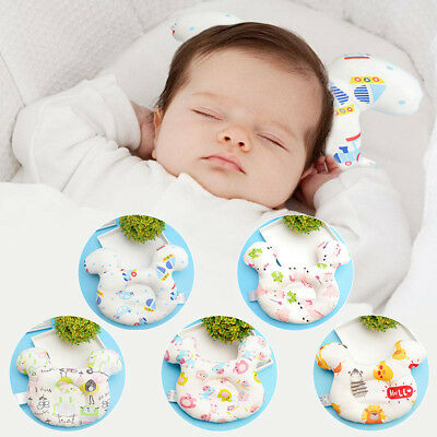 Protect Newborn Baby Shaping Pillow Lovely Cartoon Head Positioner Anti-rollover