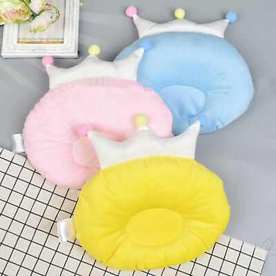0-1Y Crown Pillow Head Shaping Pillow Baby Newborn Kid Children Lovely Protect