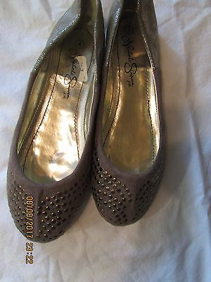 Nicole Simpson Size 4 Shoes Brown Gold New Back To School