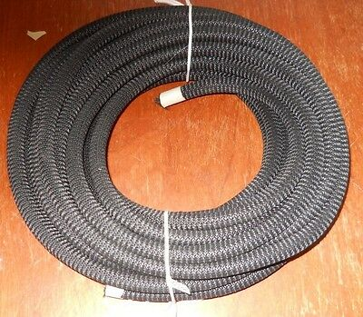 "1/2"" x 50' Premium Jet Black Super Duty MFP Cover Bungee / Shock Cord / Made USA"