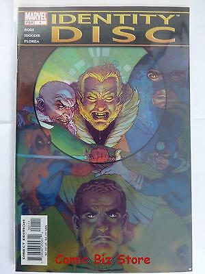 Identity Disc #1 (2004) 1St Printing Bagged & Boarded Marvel Comics