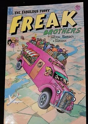 The Fabulous furry freak brother no. 11 1990 funny adult comic