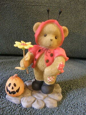 Cherished Teddies  KAYLEIGH 4010078 HALLOWEEN NO-BUGGY COULD LOOK CUTER   NEW