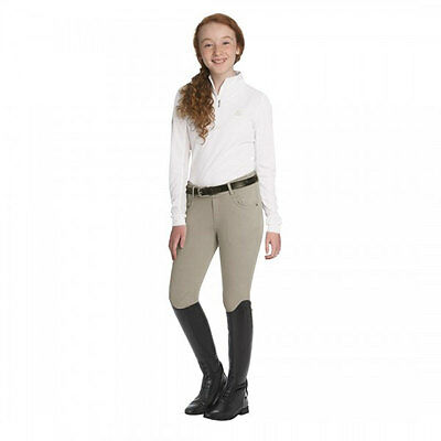 470184 Ovation Child's Euro Melange Breech - Neutral Beige NEW