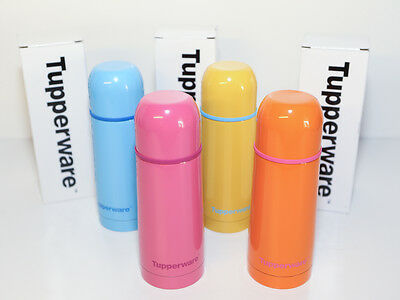 Tupperware Thermos Flask 350ml (Set of 4) Limited Edition RRP AU$112.00