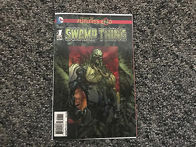 Dc Swamp Thing #1 One Shot Futures End The New 52 Excellent Nm 3D Cover