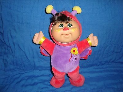 """2010 Cabbage Patch CPK Cuties Ladybug Doll 10"""" tall"""