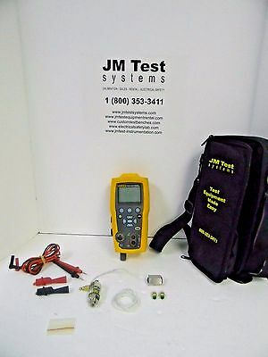 Fluke 719 30G Pressure Calibrator 30 Psi With Leads, Filter, Soft Case Rd
