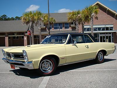 1965 Pontiac GTO GTO 1965 GTO Unrestored Tri-Power / Factory A/C PHS Documented