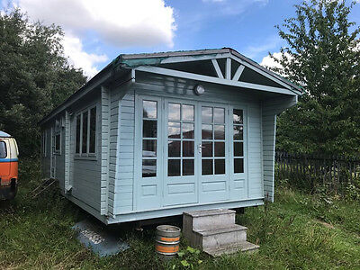 Portable Building/Office/ House 32ft x 12ft with Kitchen & Bathroom