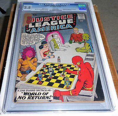 Justice League of America #1 Origin 1st Appearance of Despero Letter Roy Thomas