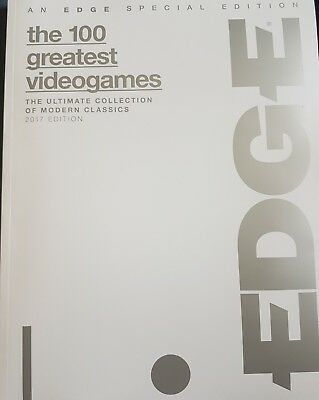 EDGE Special Edition The 100 greatest video games 2017 Editon