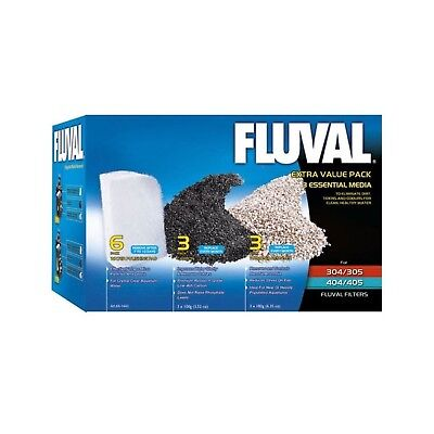 Fluval Filter Extra Value Media Pack 305 304/305/306/404/... *SAME DAY DESPATCH*