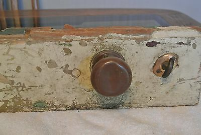 ANTIQUE ViNTAGE ROSSWIN DOOR KNOB AND LOCK W/FREE SHIPPING