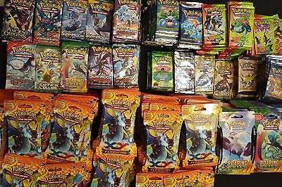 Pokemon Booster Pack LOTS Base Set Jungle Fossil Team Rocket Gym Heroes Boosters