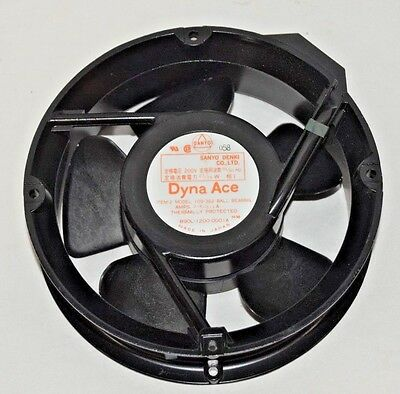 SANYO DENKI Dyna Ace Thermally Protected Cooling Fan 890L-1200-0001A 200V