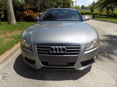 2010 Audi A5 Cabriolet Convertible 2-Door 2010 A5 CABRIOLET CLEAN CARFAX SOFTTOP CONVERTIBLE HEATED SEATS XENON FL