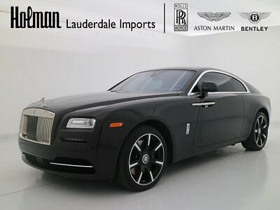 2016 Rolls-Royce Wraith WRAITH INSPIRED BY MUSIC 2016 16 ROLLS ROYCE WRAITH * MUSIC INSPIRED EDITION * STARLIGHT * $390K MSRP *D3
