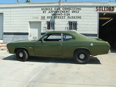 1972 Plymouth Duster  1972 Plymouth Duster  V 8 Automatic  Nice Restoration !!
