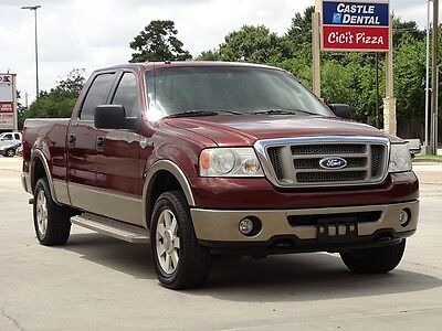 2006 Ford F-150 King Ranch Crew Cab Pickup 4-Door 2006 FORD F150 KING RANCH CREW CAB 4X4 ACCIDENT FREE TX TRUCK CARFAX CERTIFIED!