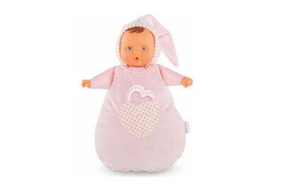 Pink Cotton Sleeper Baby Doll by Corolle