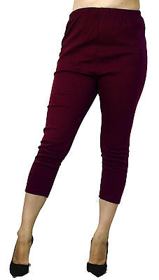 Black Maternity Ankle Leggings Solid Color Various Colors High Waisted