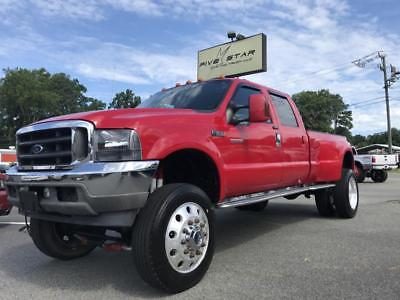 "2004 Ford F-350  2004 Ford F350 POWERSTROKE DUALLY LIFTED DIESEL BULLETPROOFED!!! 22"" ALCOA'S!!"