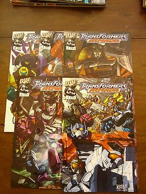 Transformers The War Within 1 2 + Preview  Generation 1 - 5 6 Variants + Armada