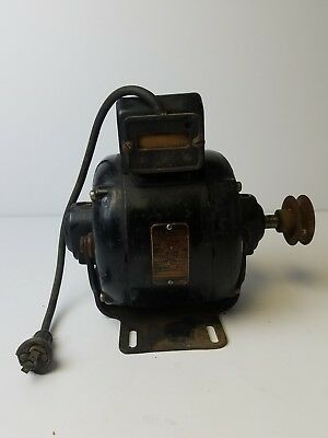 ANTIQUE VINTAGE GE General Electric AC Motor 1/4 HP 110V type KX 5KX53AA7 works
