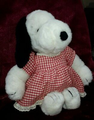 Vintage 1956 1968 Snoopy Belle Plush United Feature Peanuts Doll