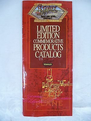 Stanley Rule and Level Company 150th Anniversary Limited Edition Product Catalog