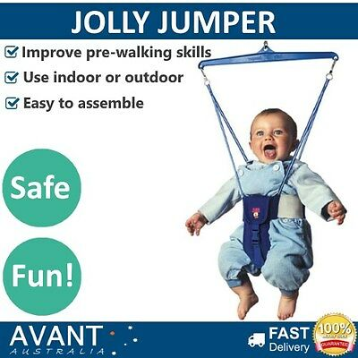 Jolly Jumper Kids Toddlers Baby Exercise Portable Indoor Outdoor HARNESS ONLY
