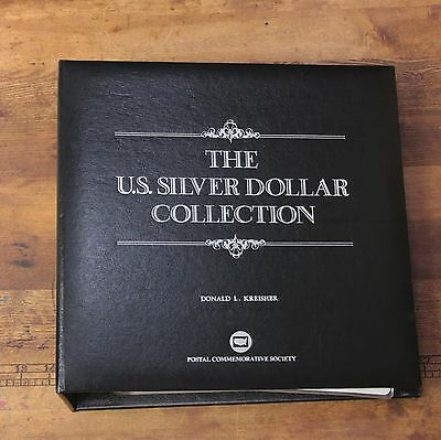 Postal Commemorative Society The US Silver Dollar Collection 35 Different Coins