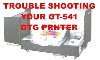 Brother GT-541 Trouble Shooting Tips-n-Tricks Document