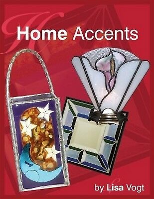 Stained Glass Pattern Book - HOME ACCENTS * (FREE SHIPPING)