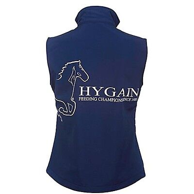 New - HYGAIN Womens Ladies Vest - Horse Riding Vest - Navy Small, Medium, Large