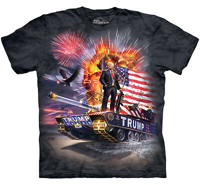 Epic Trump T-Shirt by The Mountain Includes Free Decal -------Brand New-------