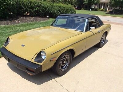 1975 Jensen-Healey MKII Completely Original Low Owner MKII Jensen-Healey Convertible Excellent Condition
