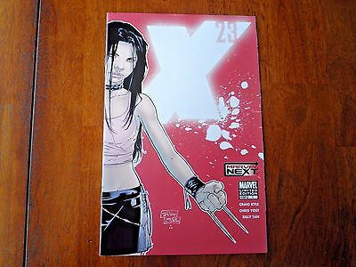 X-23 #1 Red Variant Cover Marvel Next Limited Edition 2nd Printing FN+/VFN-