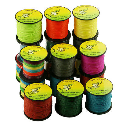 1000M Multicolor ALL LB Tackle Dyneema Super Spectra Braid Fishing Line
