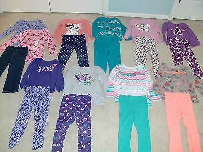Girls LOT, 19 PC, 4T, Fall, Many NWT/NWOT, Children's Place Jumping Beans, Circo